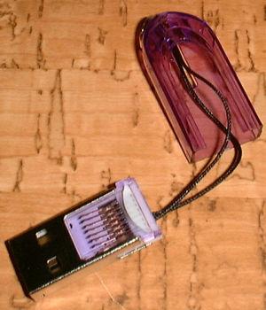 百均マイクロSDカードリーダーライター SRM01