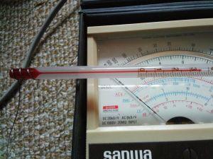 ヒーターオン36℃