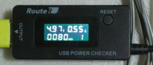 USBパワーチェッカー